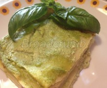 Lasagne con Ricotta e Pesto Light