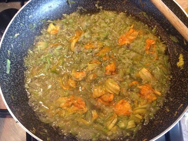 Linguine con Pesto e Zucchine 4
