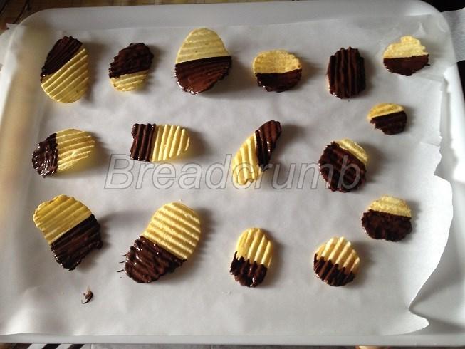 Patatine al Cioccolato 3