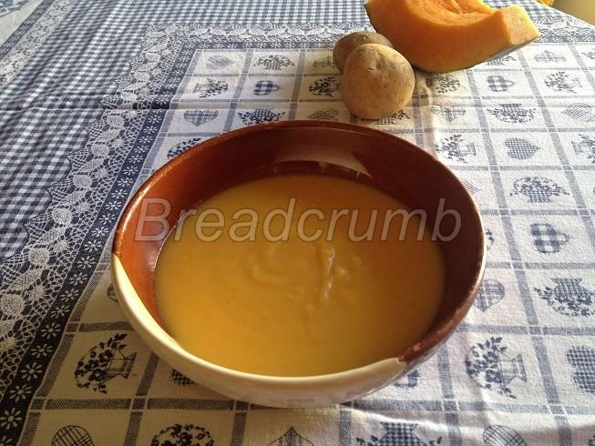 Crema di Zucca e Patate all'Arancia 1