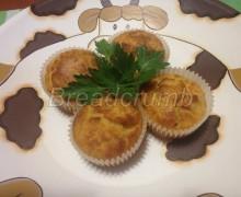Muffin con Patate e Pancetta