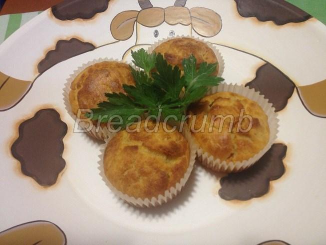 Muffin con Patate e Pancetta 1