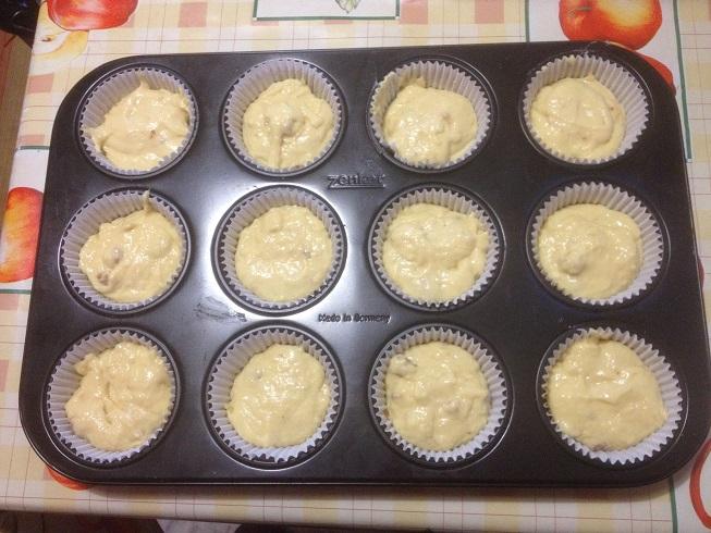 Muffin con Patate e Pancetta 7