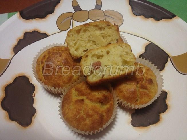 Muffin con Patate e Pancetta 9