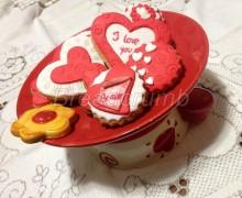Biscotti Decorati di San Valentino