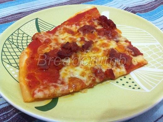 Pizza Senza Lievito 1