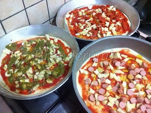 Pizza Senza Lievito 9