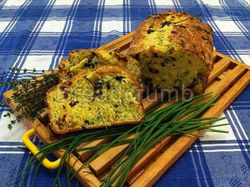 Plumcake Olive e Parmigiano 1