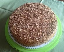 Torta Moretto con Crema al Burro