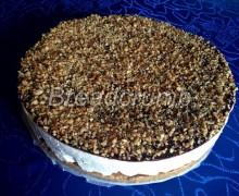 Cheese Cake con Ganache al Cioccolato e Nocciole